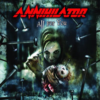 Annihilator - All For You, ltd.ed.