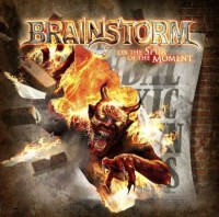 Brainstorm - On The Spur Of The Moment, deluxe wood box