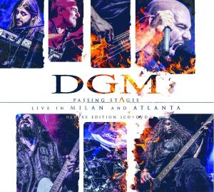 DGM - Passind Stages / Live in Milan and Atlanta (CD+DVD)
