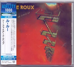 Le Roux - So fired up (Japan-CD)