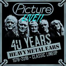 Picture - Live  - 40 Years Heavy Metal Ears 1978 - 2018
