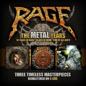 Rage - The Metal Years (Box-Set)