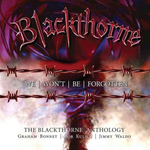 Blackthorne - We Won't Be Forgotten - The Blackthorne Anthology