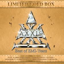 Axxis - Best Of EMI Years (30th Anniversary) GOLD BOX