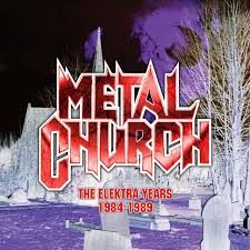 Metal Church - The Elektra Years 1984-1989 (3CD Digipak)