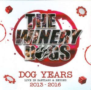 Winery Dogs - Dog Years - Live In Santiago & Beyond 2013-2016 (Box-Set)
