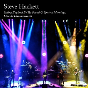 Hackett, Steve - Selling England By the Pound & Spectral Mornings: Live At Hammersmith (Artbook)