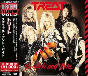 Treat - Scratch and Bite (Japan-CD)