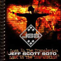 Soto, Jeff Scott - Lost In The Translation (Spcial Edition) 5 Bonustracks