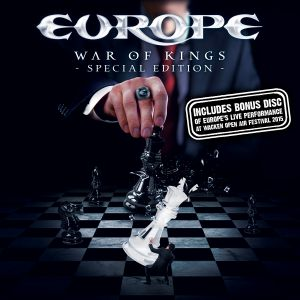 Europe - War Of Kings - Special Edition + Live in Wacken 2015