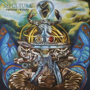 Sepultura - Machine Messiah, ltd.ed.