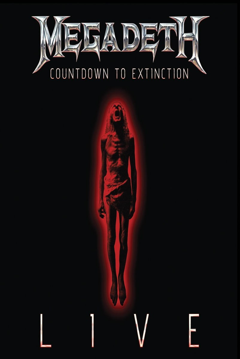 Megadeth - Countdown To Extinction: Live, ltd.ed.