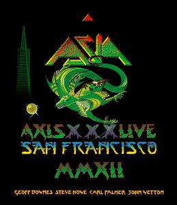 Asia - Axis XXX Live in San Francisco MMXII