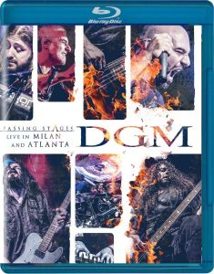 DGM - Passing Stages / Live in Milan and Atlanta (Blu Ray)
