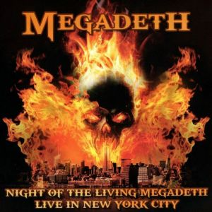 Megadeath - Night of the living Megadeth - Live in York City (Red Vinyl)