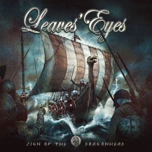 Leaves' Eyes - Sign of the dragonland (White Vinyl)
