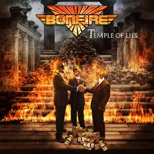 Bonfire - Temple of Lies (Yellow Vinyl)