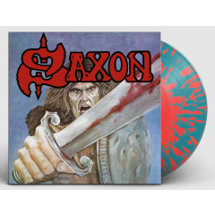 Saxon - Saxon (Red/Blue Splatter Vinyl)