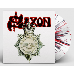 Saxon - Strong arm of the law (White Red Black Splatter Vinyl)