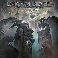 Lords Of Black - Icons of the new days (Black Vinyl)