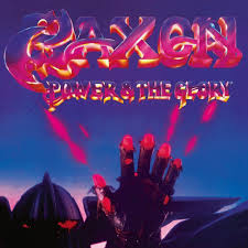 Saxon - Power & the Glory (Purple Blue Vinyl)