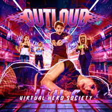 Outloud - Virtual Hero Society (Red Vinyl)