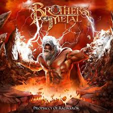 Brothers Of Metal - Prophecy Of Ragnarök (Clear Red Vinyl)