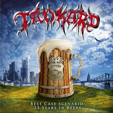 Tankard - Best Case Scenario - 25 Years In Beers (Re-Release) Clear Vinyl