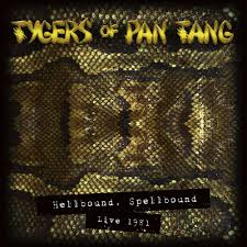 Tygers Of Pan Tang - Hellbound Spellbound '81 (Gold Vinyl)