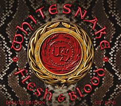 Whitesnake - Flesh & Blood (Gold Vinyl)