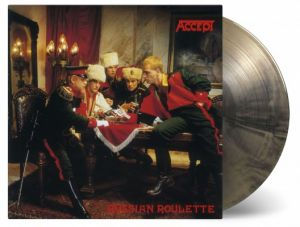 Accept - Russian Roulette (Gold & Black Swirled Vinyl)