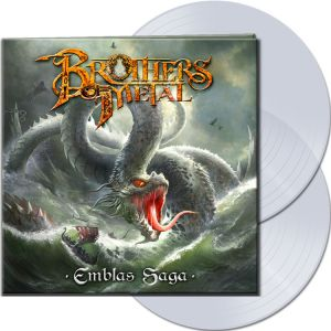 Brothers Of Metal - Emblas Saga (Clear Vinyl)
