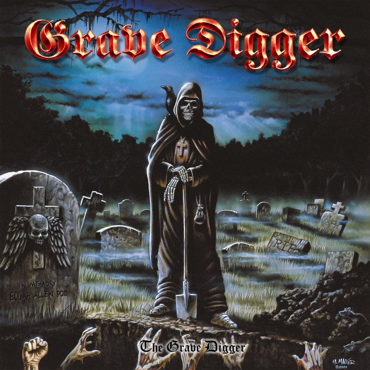 The Grave Digger (Clear Blue Vinyl):