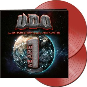 U.d.o. - We Are One (Clear Red Vinyl)