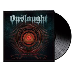 Onslaught - Generation Antichrist (Black Vinyl) Ltd.