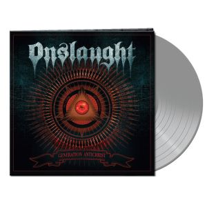 Onslaught - Generation Antichrist (Silver Vinyl)  Ltd.