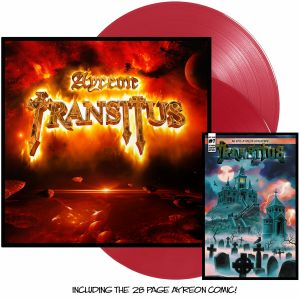 Ayeron - Transitus (Red Vinyl+28 page Comic Book)