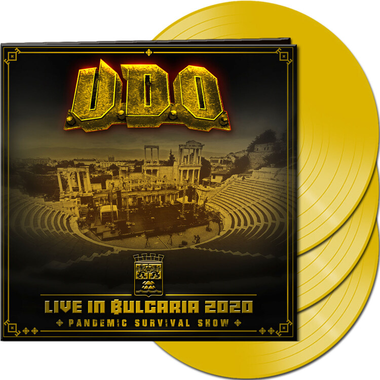 Live in Bulgaria 2020 - Pandemic Survival Show  (Yellow Vinyl)