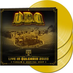 U.d.o. - Live in Bulgaria 2020 - Pandemic Survival Show  (Yellow Vinyl)
