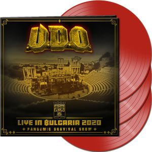 U.d.o. - Live in Bulgaria 2020 - Pandemic Survival Show  (Red Vinyl)