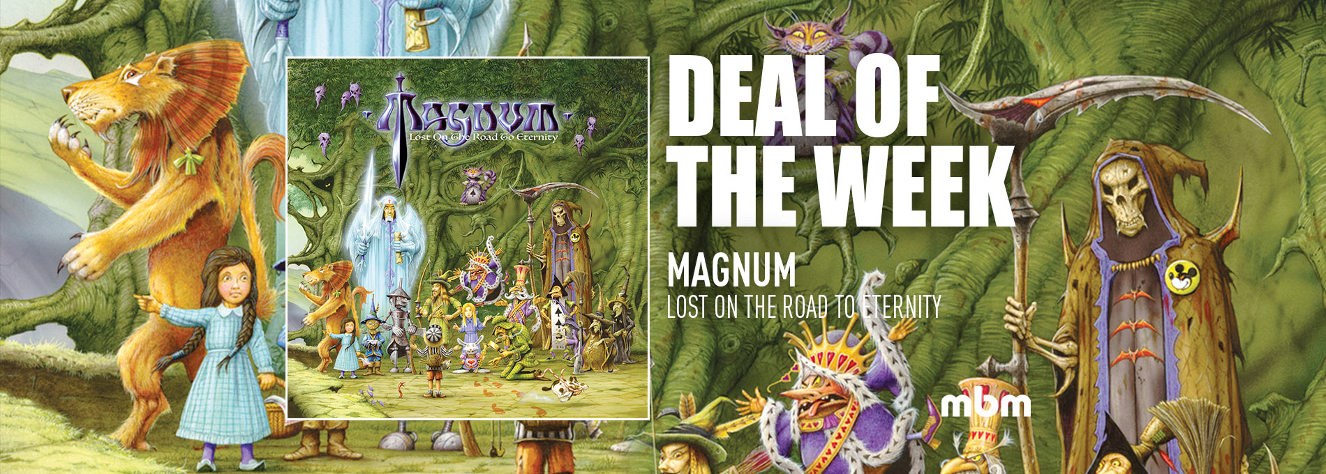 Deal Of the Week : Magnum - Lost On The Road To Eternity