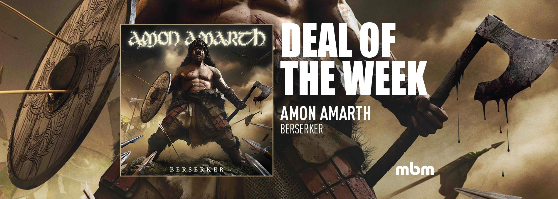Deal Of The Week: AMON AMARTH - Berserker