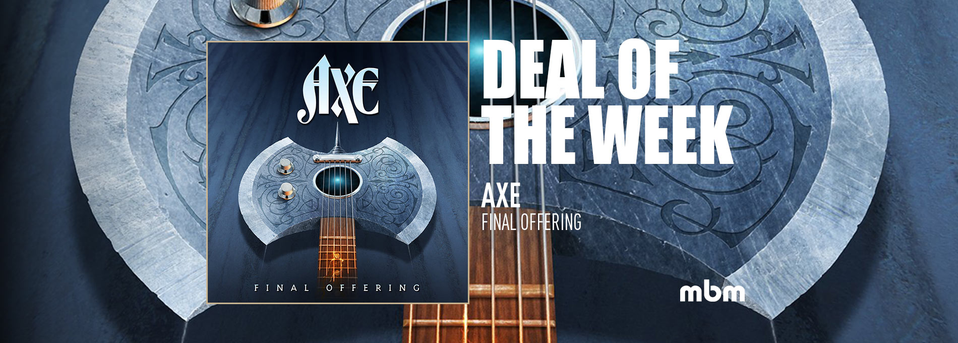 Deal Of The Week: AXE - Final Offering