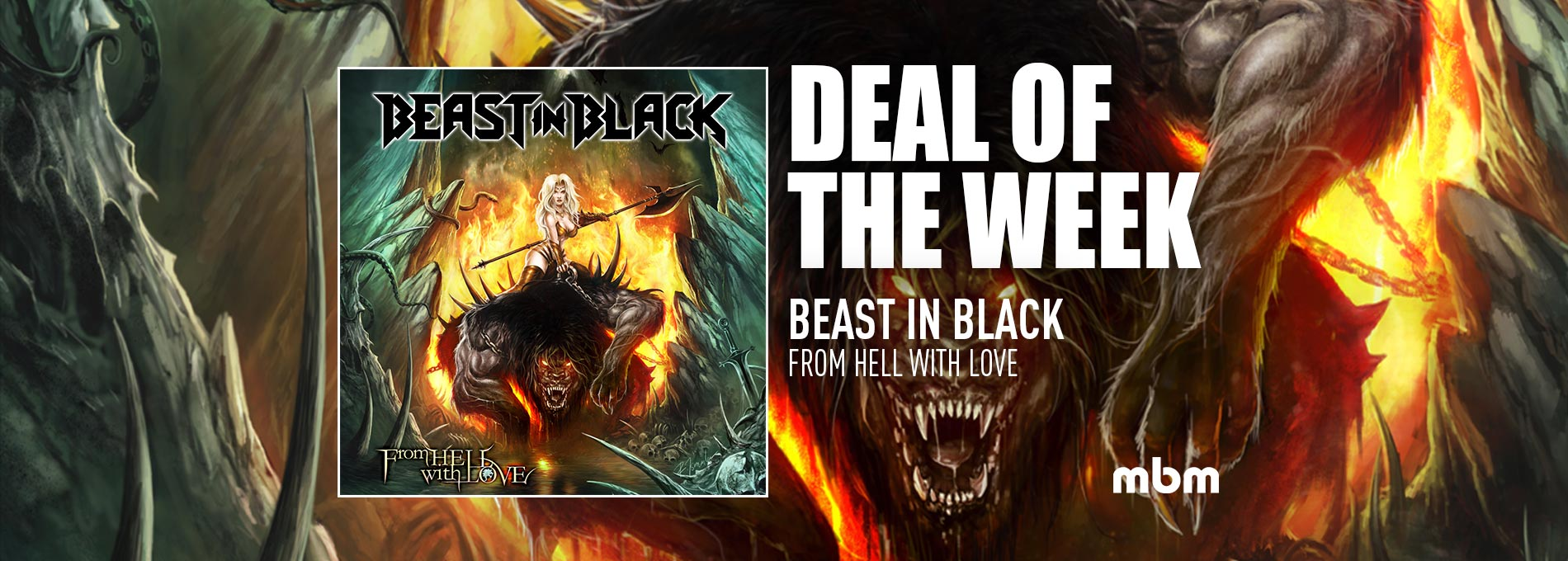 Deal Of The Week: BEAST IN BLACK - From Hell With Love