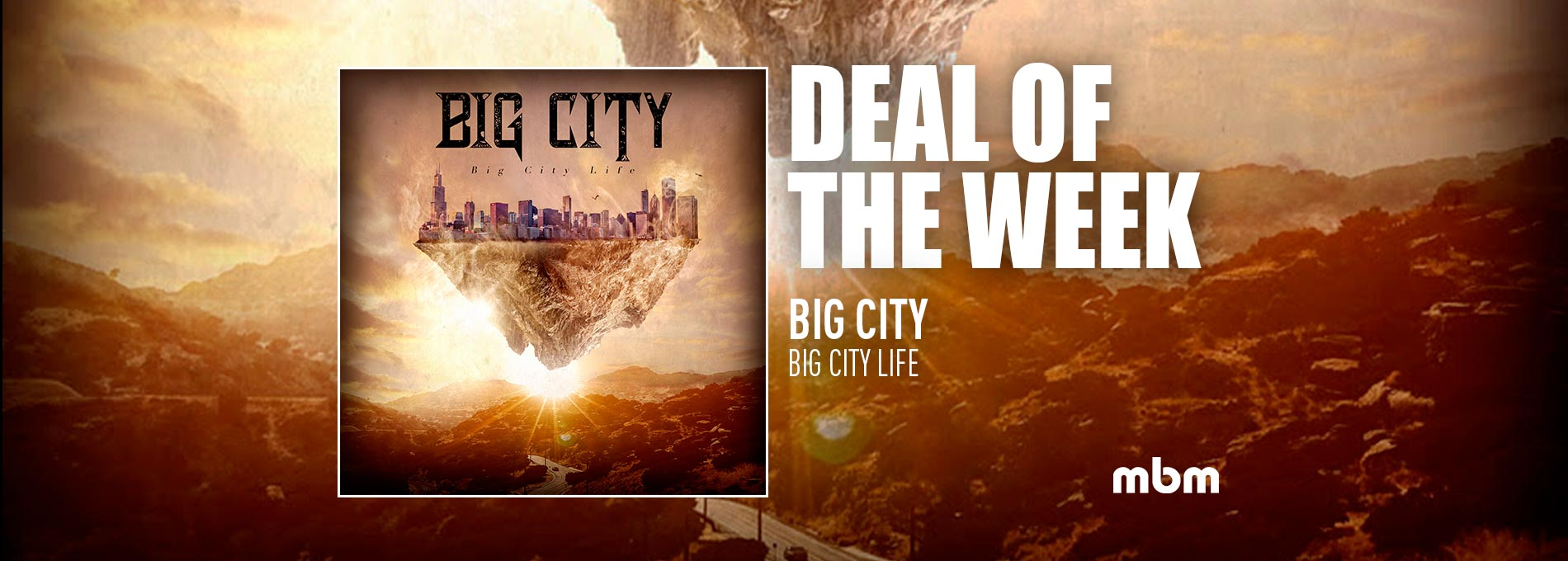 Deal Of The Week: BIG CITY - Big City Life