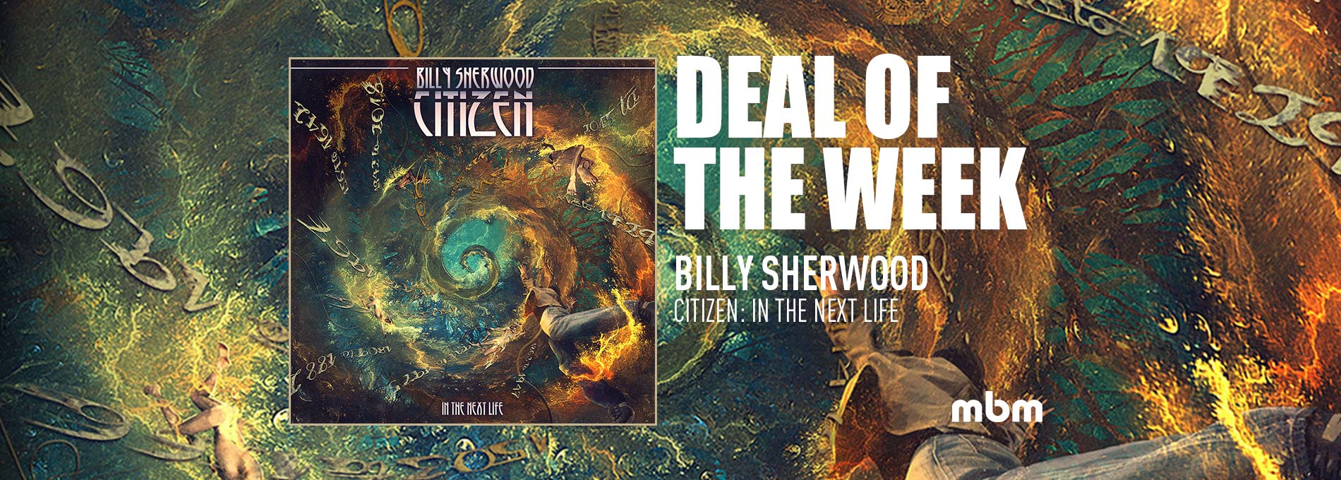 Deal Of The Week: SHERWOOD, BILLY - Citizen: In The Next Life