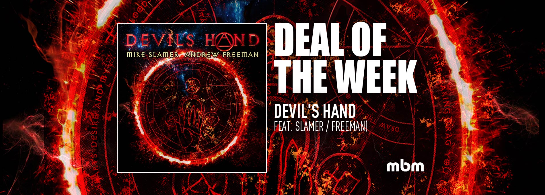 Deal Of The Week: DEVIL'S HAND - Feat. Slamer / Freeman