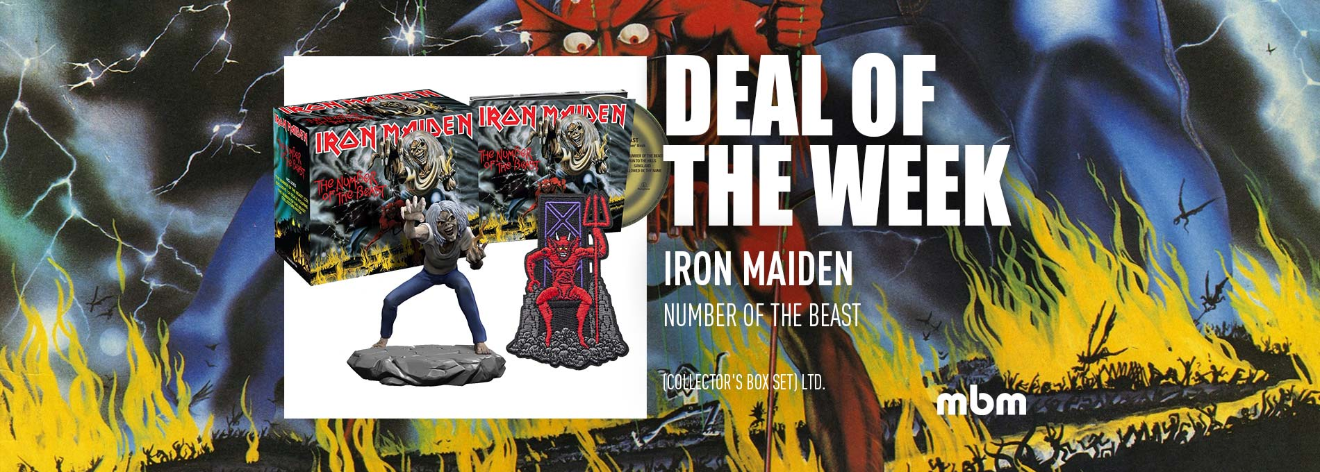 Deal Of The Week: IRON MAIDEN - Number Of The Beast / Ltd. Collectors Box Set