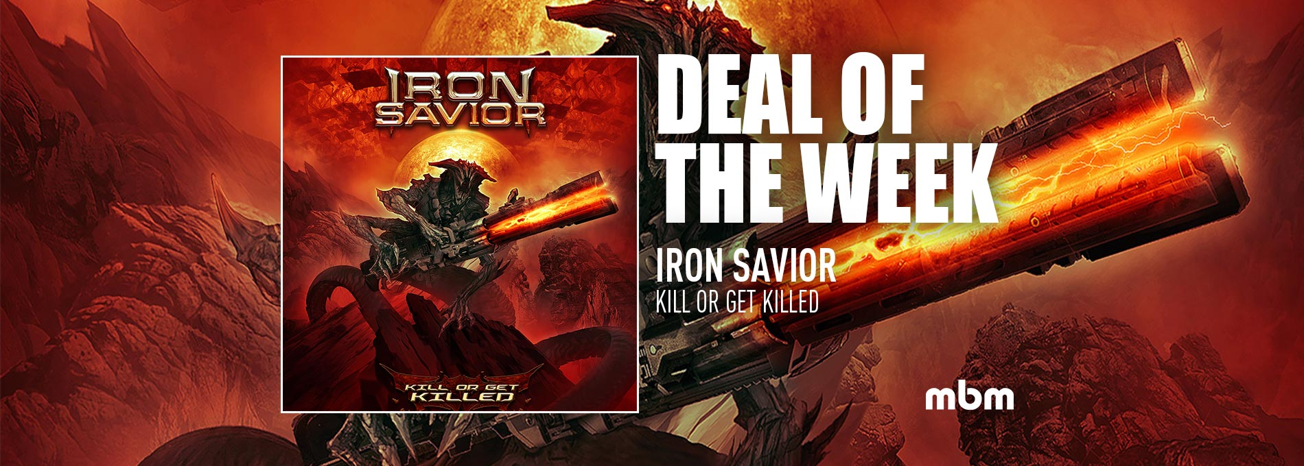 Deal Of The Week: IRON SAVIOR - Kill Or Get Killed