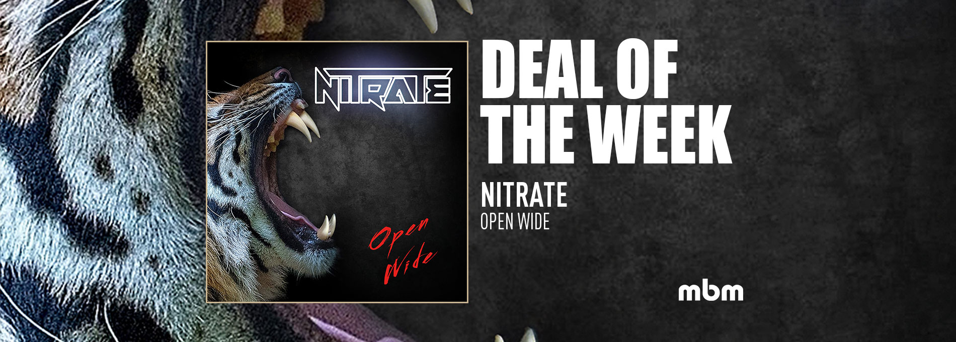 Deal Of The Week: NITRATE - Open Wide